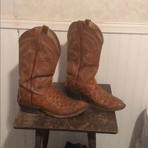 Shoes - Men's sea bass cowboy boots